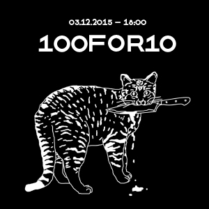 100FOR10 exhibition <br>easy!upstream