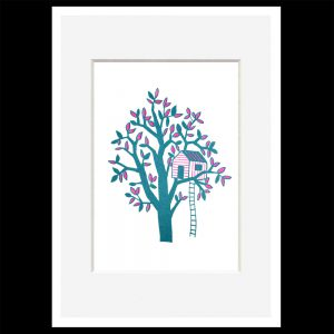 <b>Adam Hayes – Treehouse</b><br>Art Print