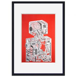 <b>Adam Hayes – Robot</b><br>Art Print