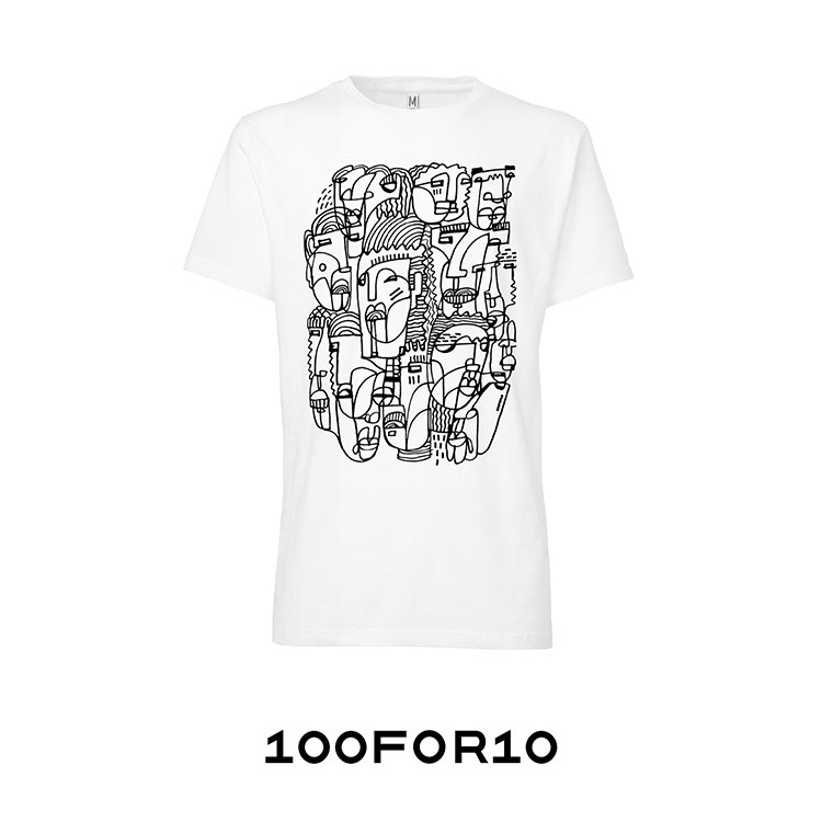 100FOR10 special  T-shirt edition