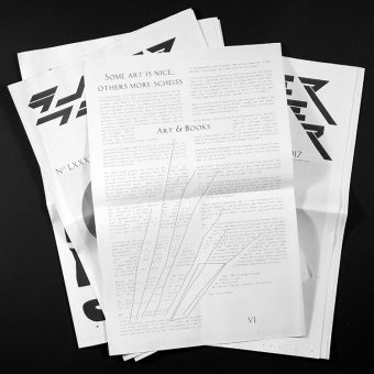 superpaper issue #87 <br>100FOR10 article